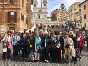 De retour de Rome !